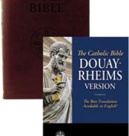 Tan Books Douay-Rheims Bible (Burgundy Premium Ultrasoft, Standard Print Size)