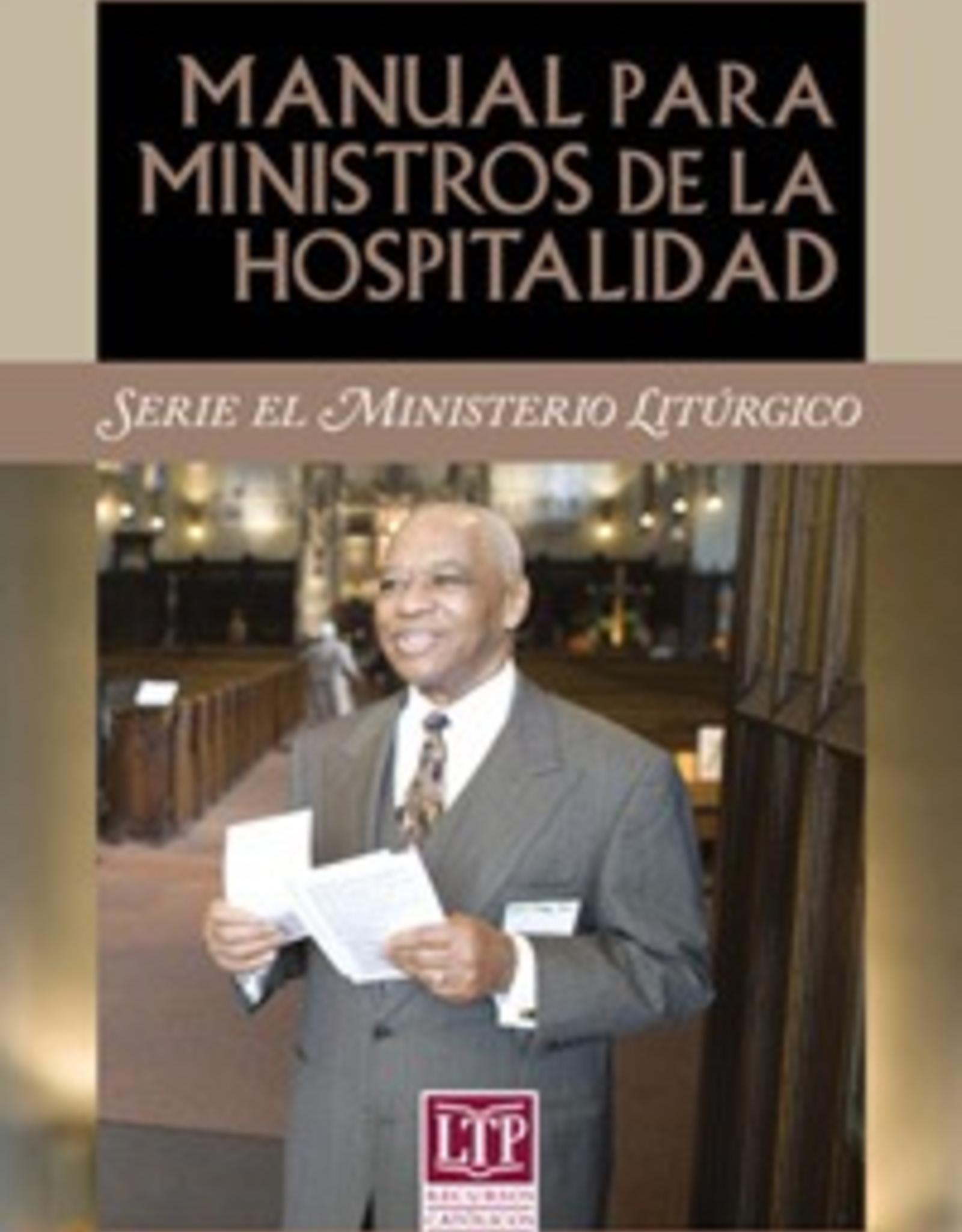 Liturgical Training Press Manual para ministros de la hospitalidad, Paul Turner and Karie Ferrell