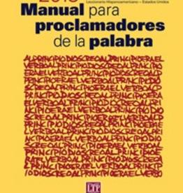 Liturgical Training Press Manual para proclamadores de la palabra 2013, Santiago CortÌÄå©s-SjÌÄå¦berg