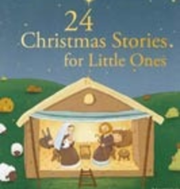Ignatius Press 24 Christmas Stories for Little Ones, by Sophie de Mullenheim, Anne Gravier and Charlotte Grossetete (hardcover)