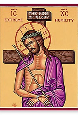 "Monastery Icons 4"" x 6"" Extreme Humility"