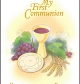 Pauline My First Communion Remembrance Book, by Joan Marie Arbogast (hardcover)