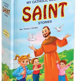 Catholic Book Publishing My Catholic Book of Saints, by Thomas Donaghy (padded hardcover)