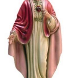 """Santa Teresita 12"""" Sacred Heart Statue"""