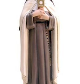 "Santa Teresita 12"" St. Clare Statue"