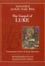 Ignatius Press The Gospel of Luke (2nd ed.):  Ignatius Catholic Study Bible, by Scott Hahn and Curtis Mitch (paperback)