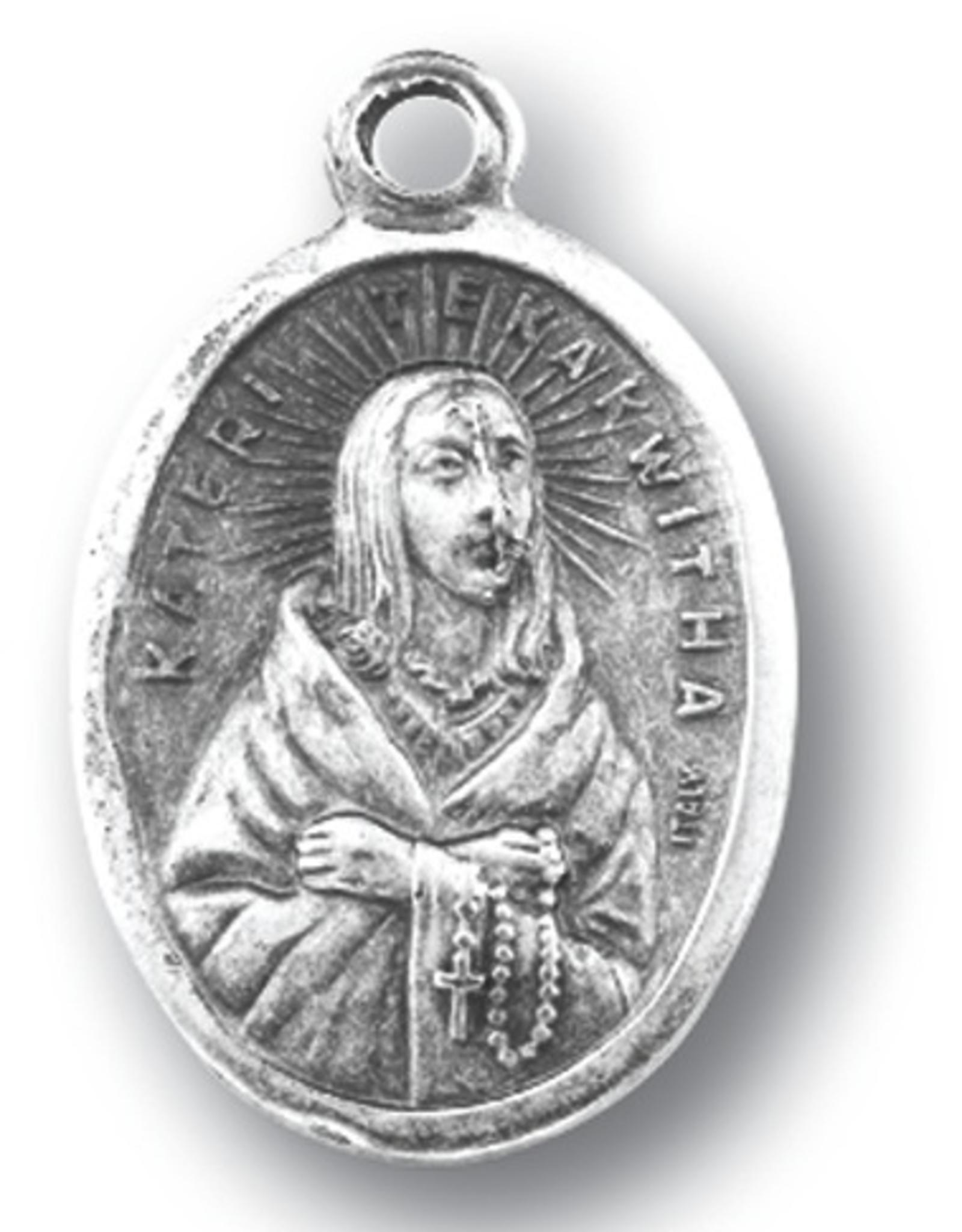 WJ Hirten St. Kateri Tekakwitha Medal