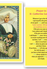WJ Hirten St. Catherine Laboure Holy Cards (25/pk)