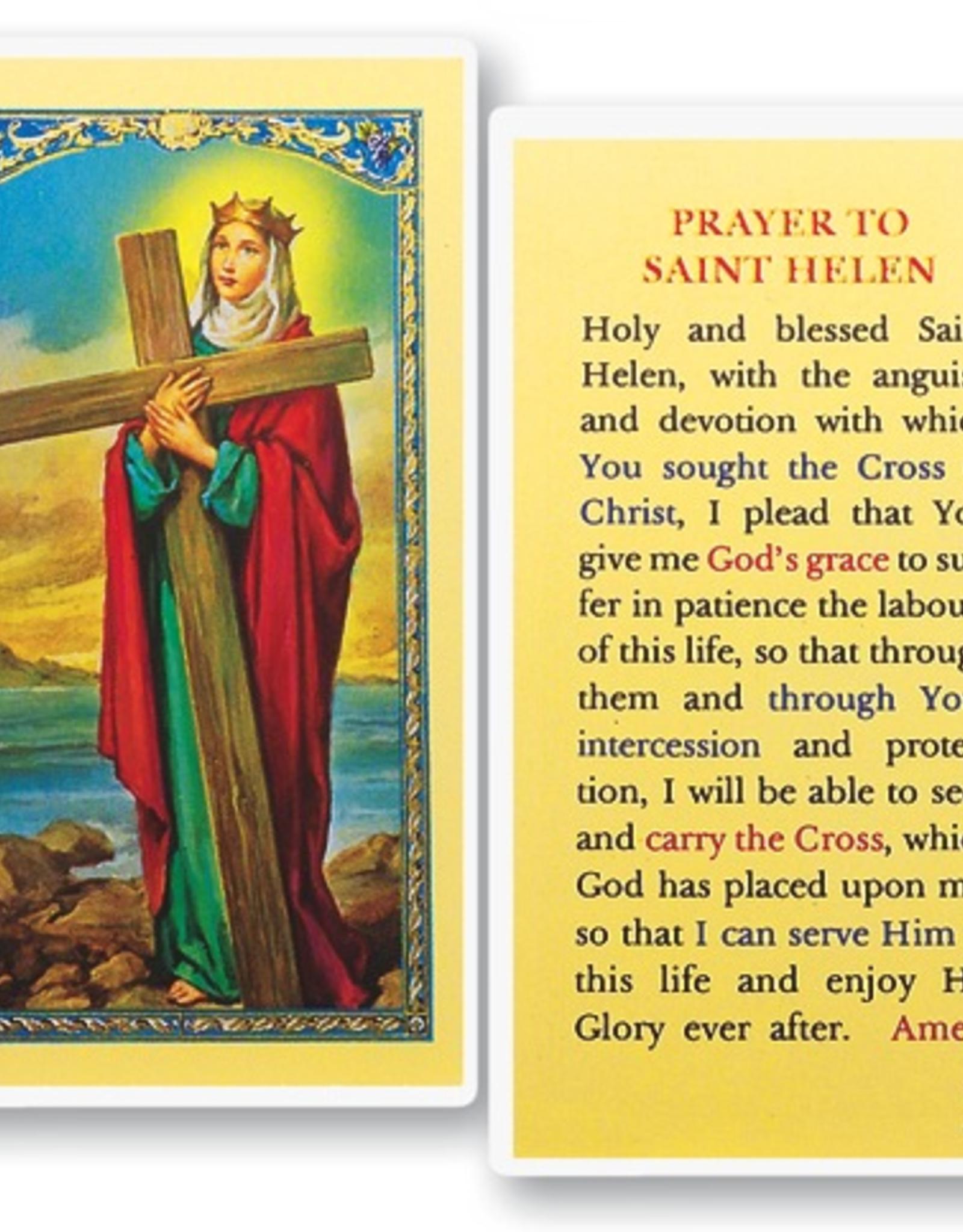 WJ Hirten St. Helen Holy Cards (25/pk)