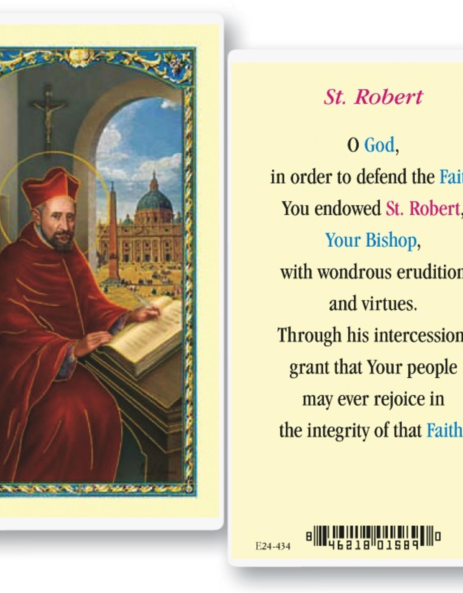 WJ Hirten St. Robert Holy Cards (25/pk)