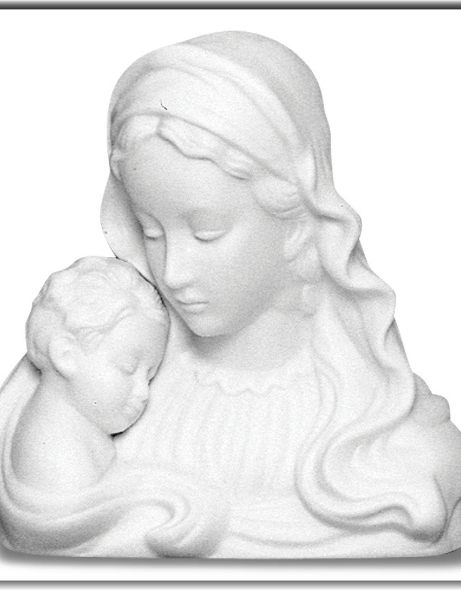WJ Hirten Madonna and Child Porcelain Nightlight