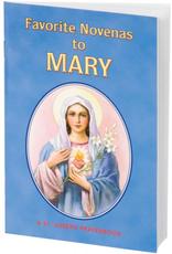 Catholic Book Publishing Favorite Novenas to Mary, by Lawrence Lovasik