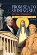 Ignatius Press From Sea to Shining Sea, Teacher's Manual, Grade 5 History Textbook (paperback)