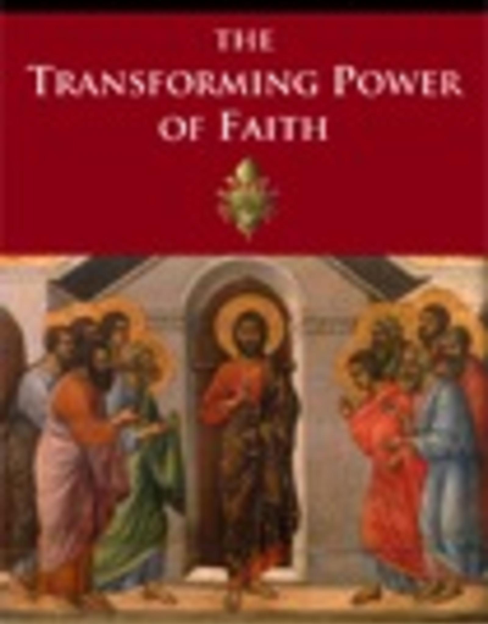 Ignatius Press The Transforming Power of Faith, by Pope Benedict XVI (hardcover)