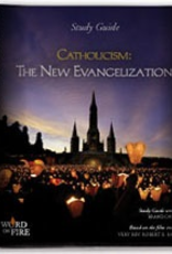 Catholic Word Publisher Group Catholicism:  The New Evangilization Study Guide, by Father Robert Barron (spiral)