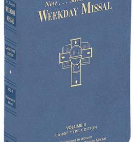 Catholic Book Publishing St. Joseph Weekday Missal Large Type Volume II (Imitation Leather)