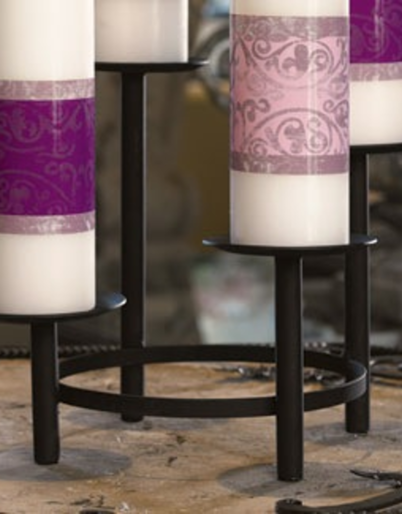 """Will and Baumer Black Advent Tier Holder (9 1/4 x 10 1/2"""")"""