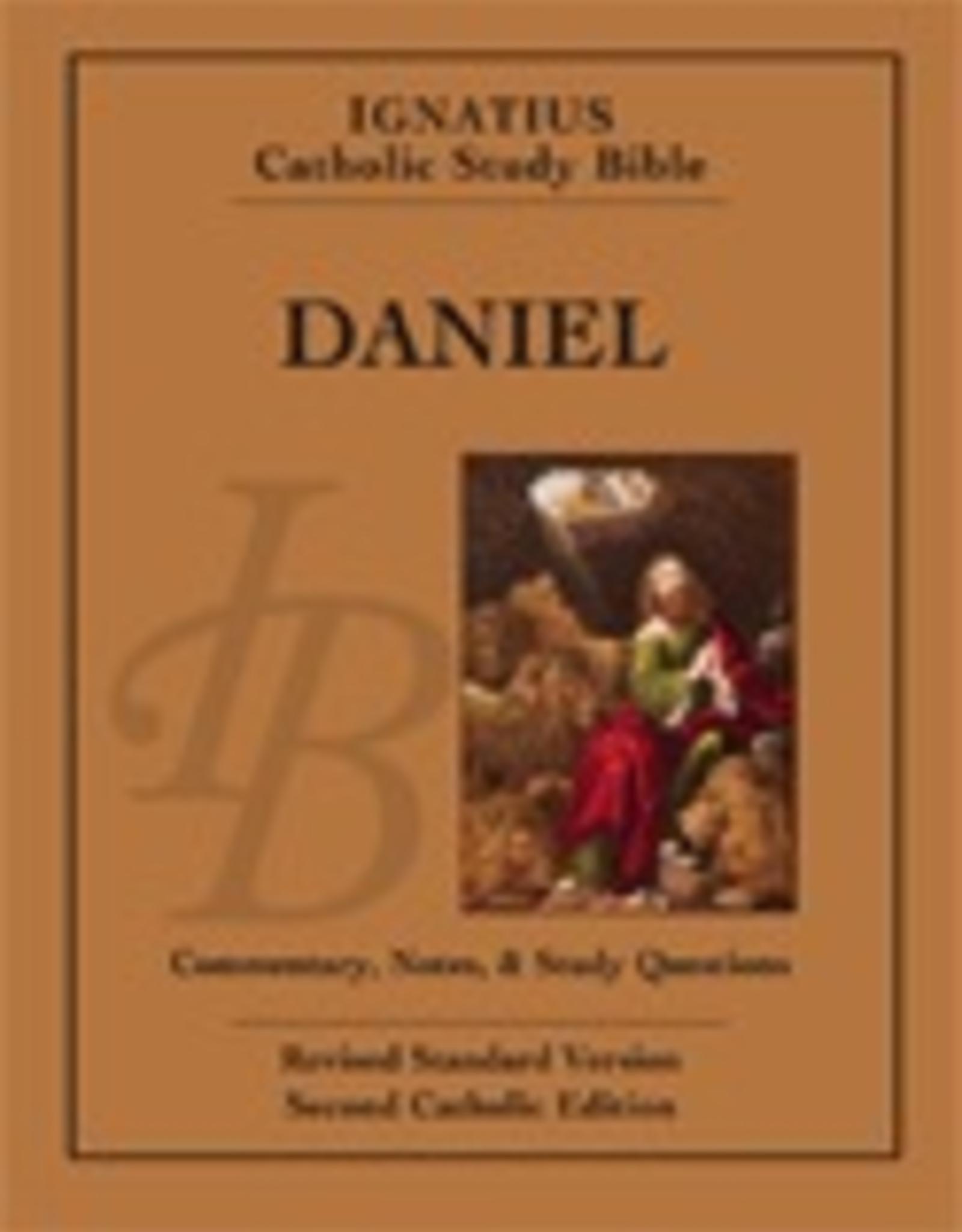 Ignatius Press Daniel:  Ignatius Catholic Study Bible, by Scott Hahn and Curtis Mitch (paperabck)