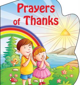 Catholic Book Publishing Prayers of Thanks (St. Joseph Sparkle Book), by Thomas Donaghy (boardbook)