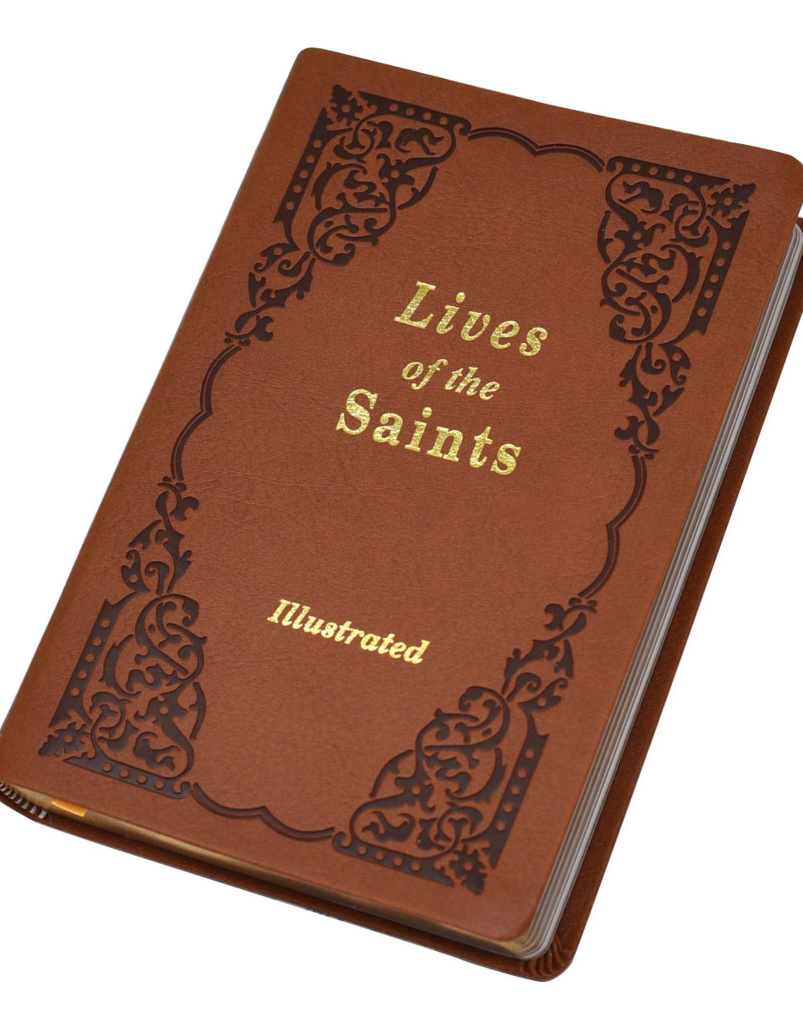 Catholic Book Publishing Lives of the Saints Volume I (Imitation leather)