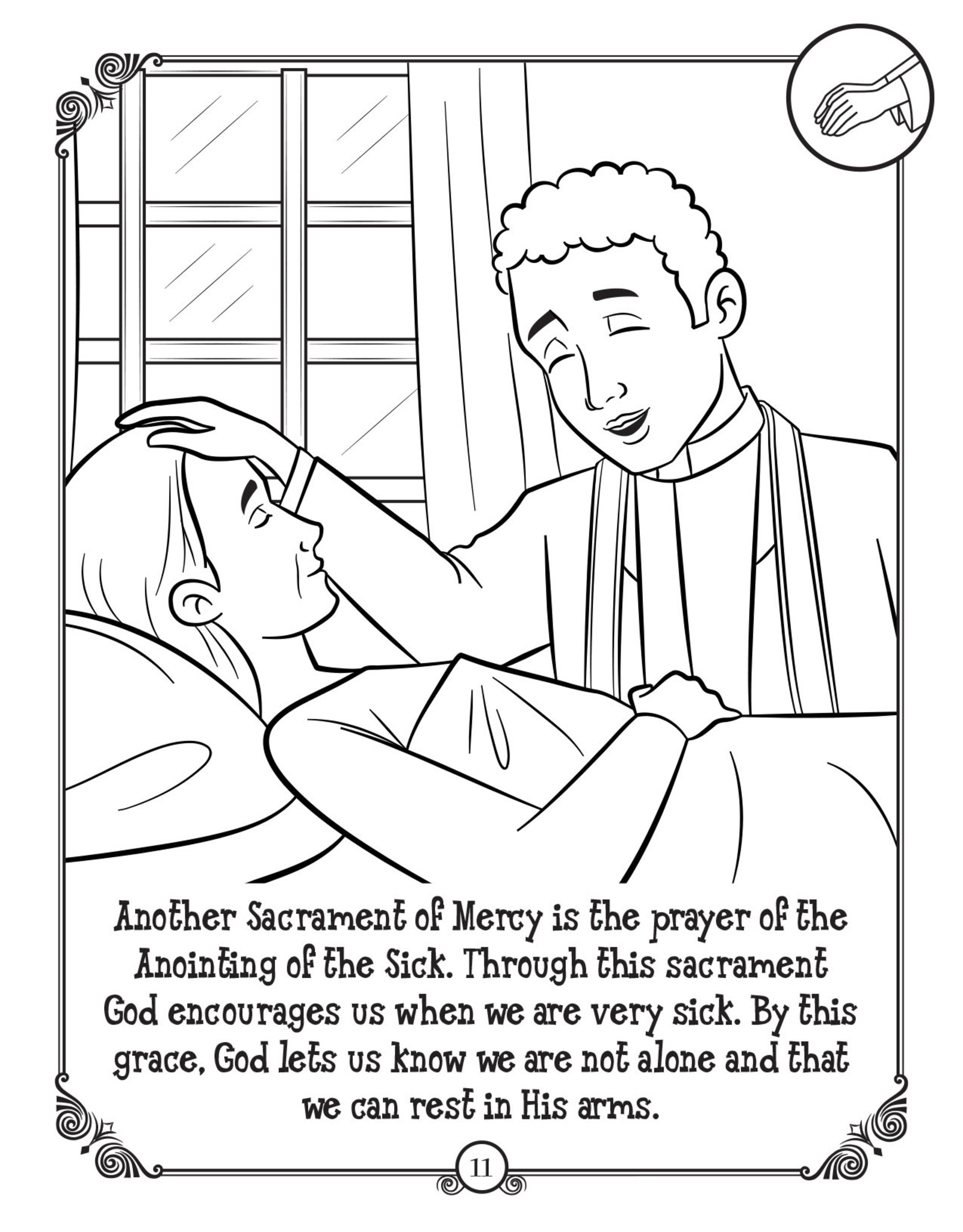 Brother Francis Brother Francis Coloring Book:  The Sacraments