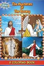 Brother Francis Coloring Storybook:  The Mysteries of the Rosary