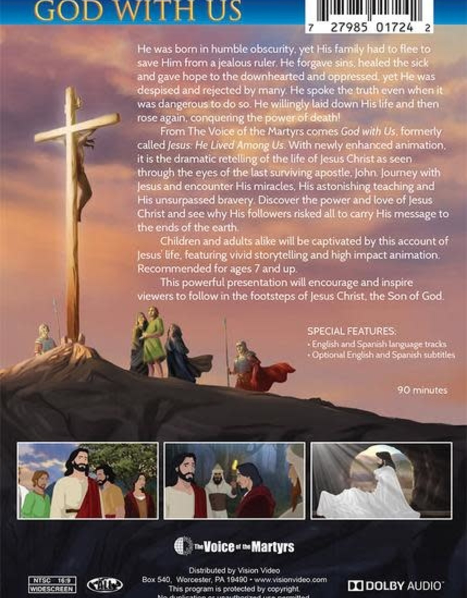 Brother Francis God with Us:  The Coming of the Savior (DVD)