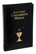 Saint Joseph Children's Missal (Boys)(Padded Leather)