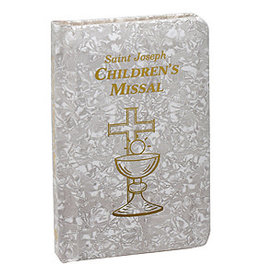 Saint Joseph Children's Missal (White)(Padded Mother of Pearl)