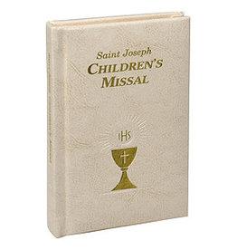 Saint Joseph Children's Missal (White)(Padded Leather)