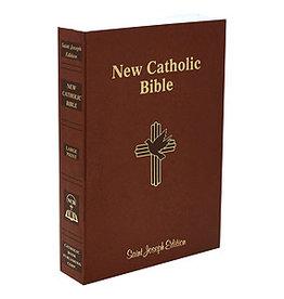 St. Joseph New Catholic Bible (Large Type)(paperback)