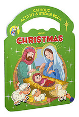 Catholic Activity & Sticker Book About Christmas