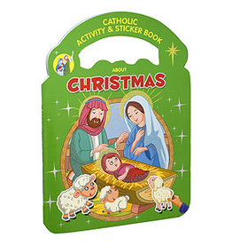 Catholic Activity & Sticker Book About Christmas