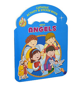 Catholic Sticker & Activity Book About Angels