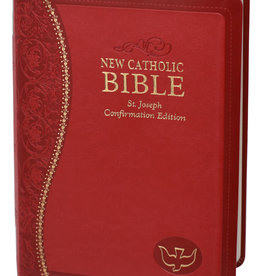 New Catholic Bible:  Confirmation Edition  (Red  DURA-LUX leather)