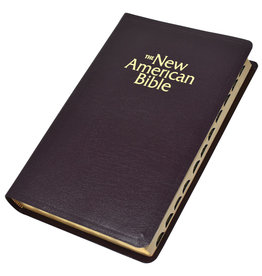 New American Bible (NABRE) Deluxe Gift Bible (bonded leather)