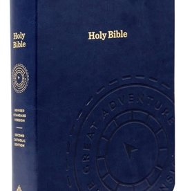 The Great Adventure Catholic Bible (leather)