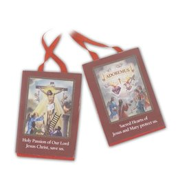 """WJ Hirten Red Scapular of the Passion 2"""""""