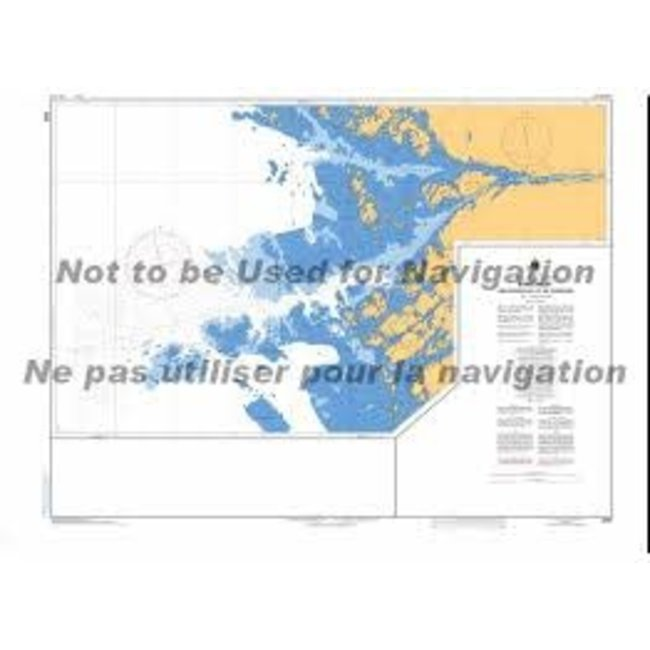 Hydrographic Byng Inlet & Approaches