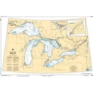 Hydrographic Great Lakes
