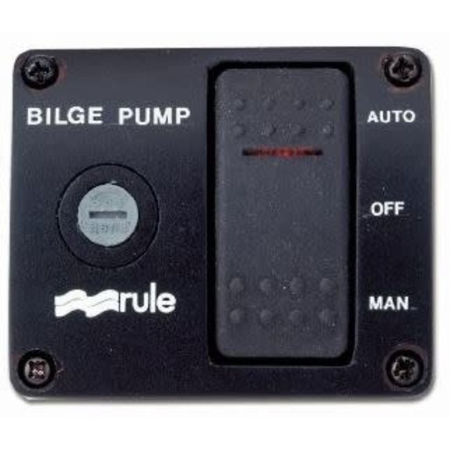 Rule Bilge pump Switch Deluxe Model 43