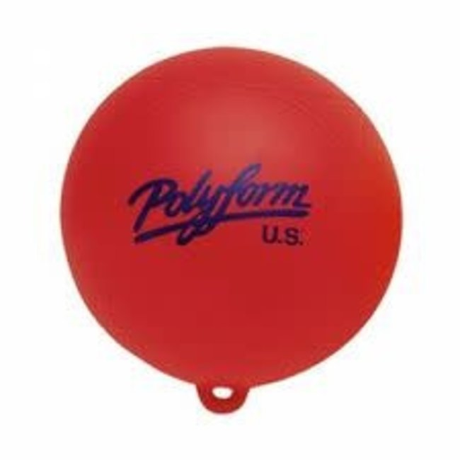 "Taylor 9"" Red Marker Buoy"