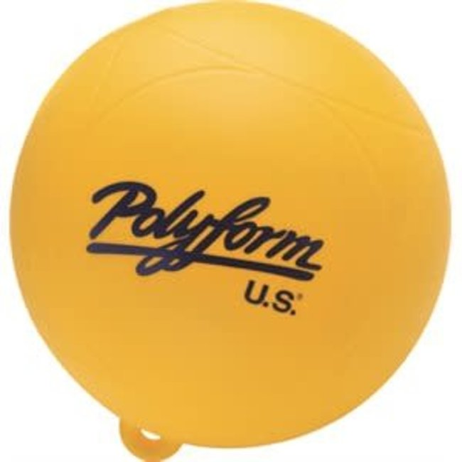 "Taylor 9"" Yellow Marker Buoy"