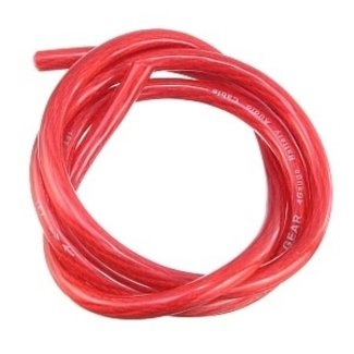 Ancor Tinned Copper Wire 8 AWG Red Battery Cable