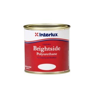 International Paints Brightside White Boot Top 1/2 Pint Polyurethane