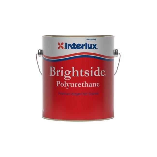 International Paints Brightside Blue Glo Gal White Polyurethane