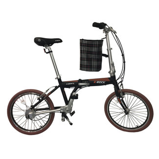 K-Rock Folding Chainless Bicycle Steel Blk