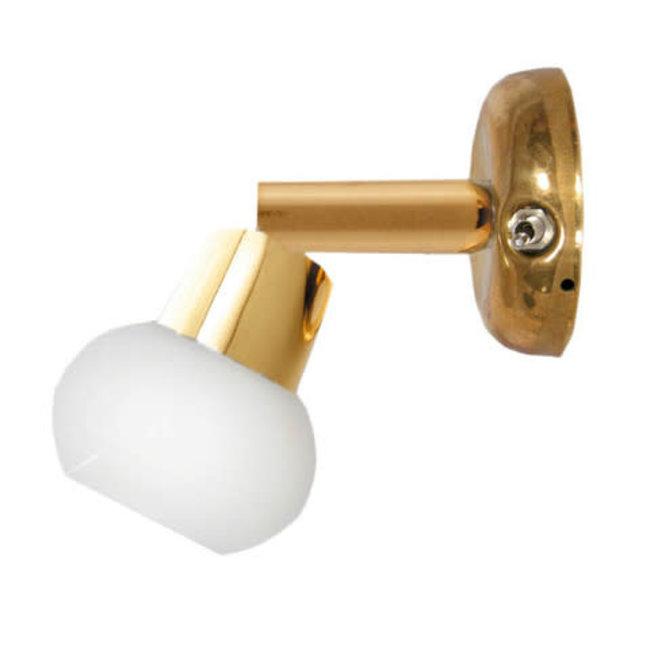 Victory Brass Reading Light W/ Switch