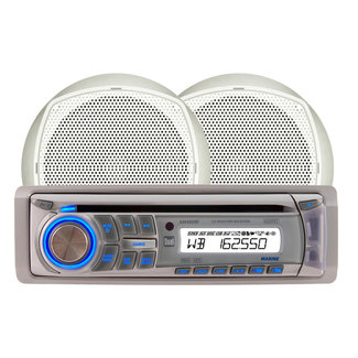 Dual Dual Stereo Kit AM/FM/CD Weather w/Speakers