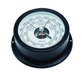 Victory Barometer Black 70mm